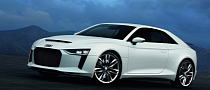 Frankfurt-Bound Audi quattro Concept Is Based on A6, Powered by 600 HP 4.0 TFSI