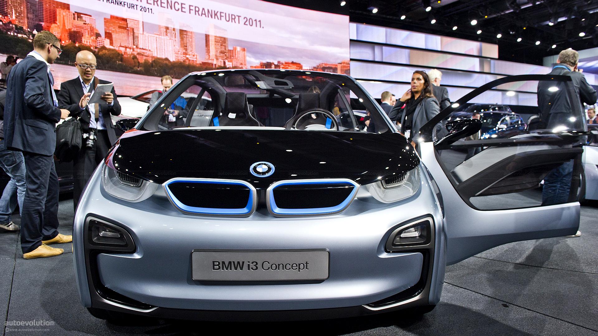 Frankfurt Motor Show to Host Production BMW i3 Unveiling - autoevolution
