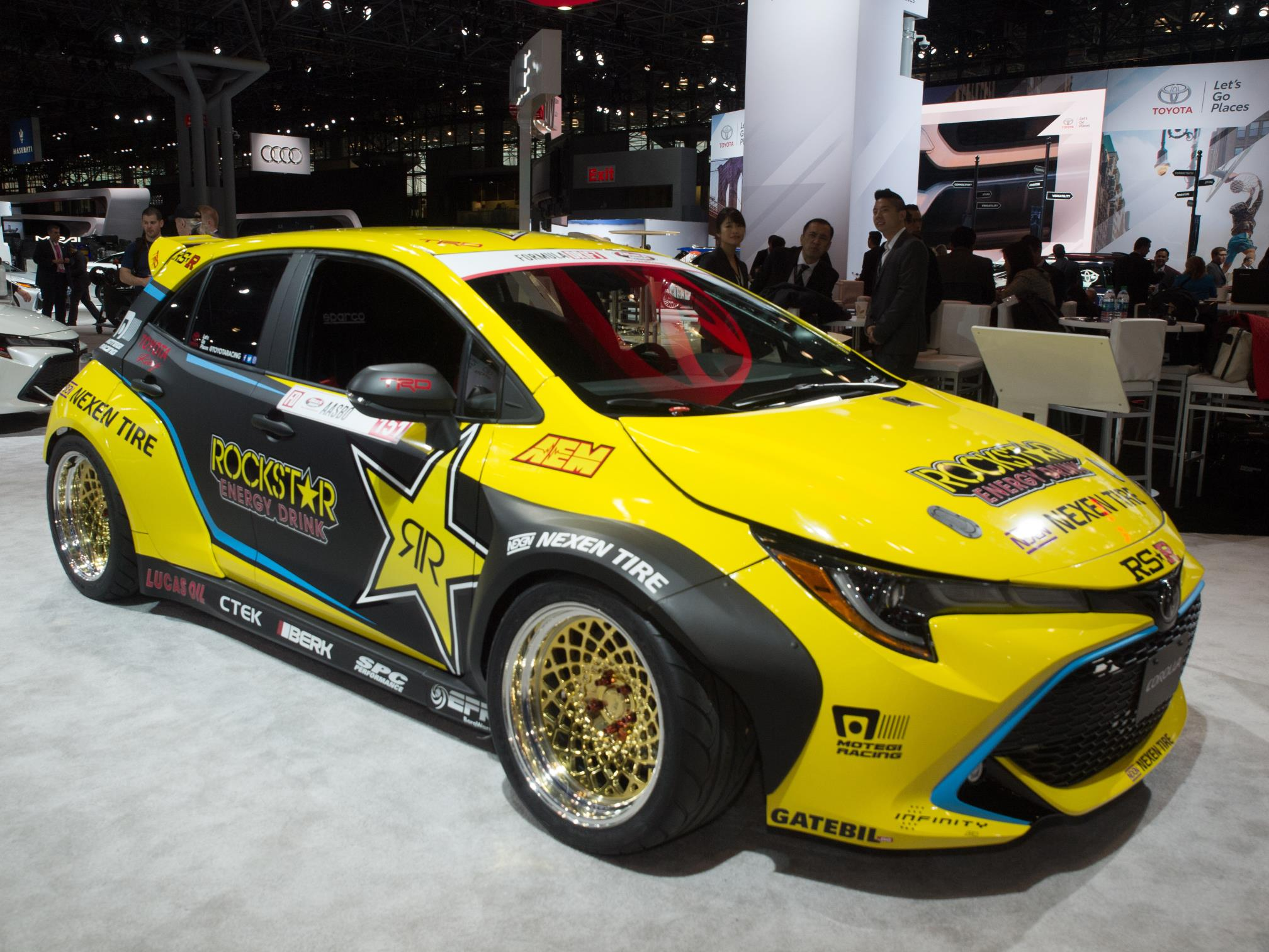 Fredric Aasbo Shows 1 000 Hp 2019 Corolla Drift Hatch In New York