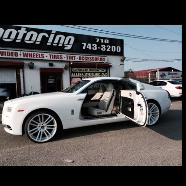 White Rolls Royce Wraith 2016: French Montana Gets New Wheels For His Rolls-Royce Wraith