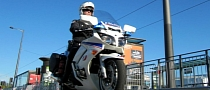 French Policeman Loses License for Doing 186 KM/H on Bike