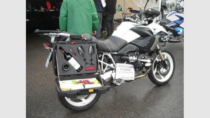 French Style and German Technology for BMW R1200GS