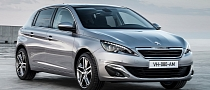 Fresh 2014 Peugeot 308 Photos Leaked Shed New Light on French Compact [Photo Gallery]