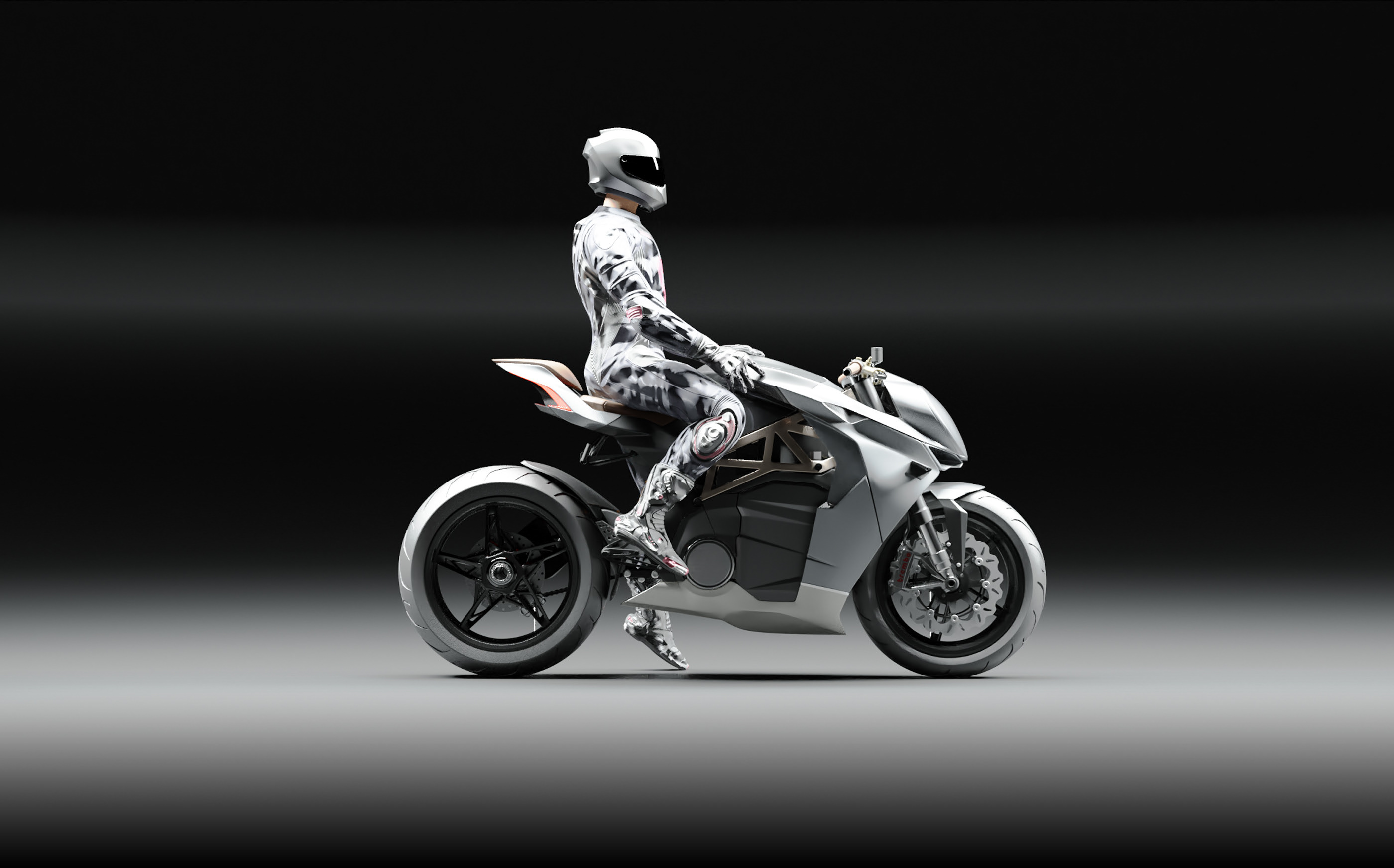 Aeolian Electric Moto GP Hyperbike Rendering Appeals With Tried and Tested Design - autoevolution
