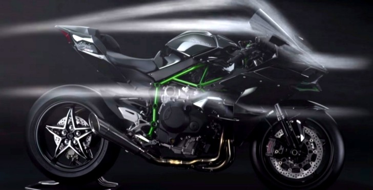 kawasaki ninja h2r ad makes us want to see it up against the challenger srt hellcat autoevolution. Black Bedroom Furniture Sets. Home Design Ideas