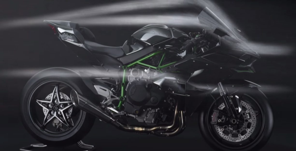 Kawasaki Ninja H2r Ad Makes Us Want To See It Up Against The