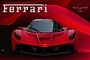 Front End of the Ferrari F70 Rendered Based on Teaser
