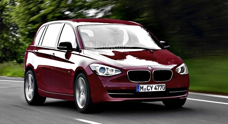 Front-Wheel Drive BMW 1-Series GT Confirmed for Paris