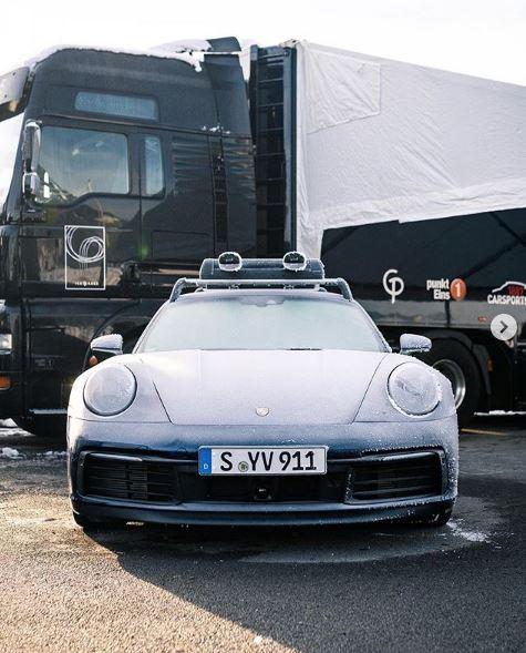 Frozen 2020 Porsche 911 Carrera S Looks Stunning