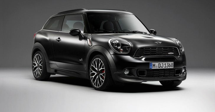 Frozen Black Metallic Paint Now Available for MINI Countryman and Paceman