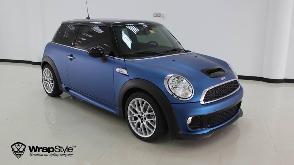 Frozen Blue Mini Cooper S