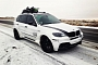 Frozen Chrome BMW X5 Looks Interesting [Photo Gallery]