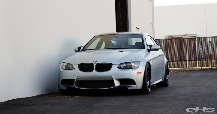 Frozen Silver BMW E92 M3 from EAS Is Clean and Elegant [Photo Gallery]
