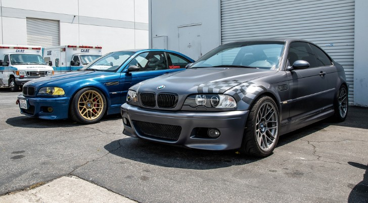 Frozen Stahl Grey BMW E46 M3 Pays Homage to the E36 LTW M3