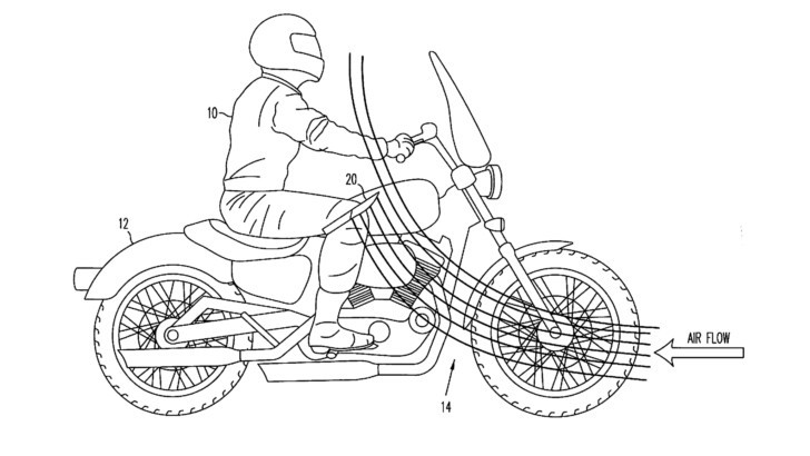 Fun with Patents: The Knee Air Deflector