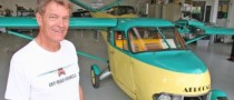 Functional Flying Car Kept as Family Treasure