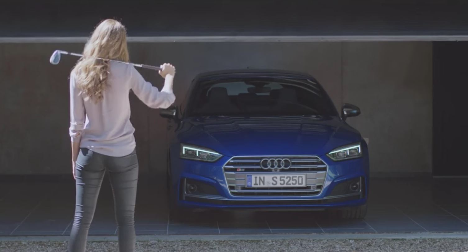 Furious Wife Destroys Everything Stops At New Audi S Sportback In - Audi commercial