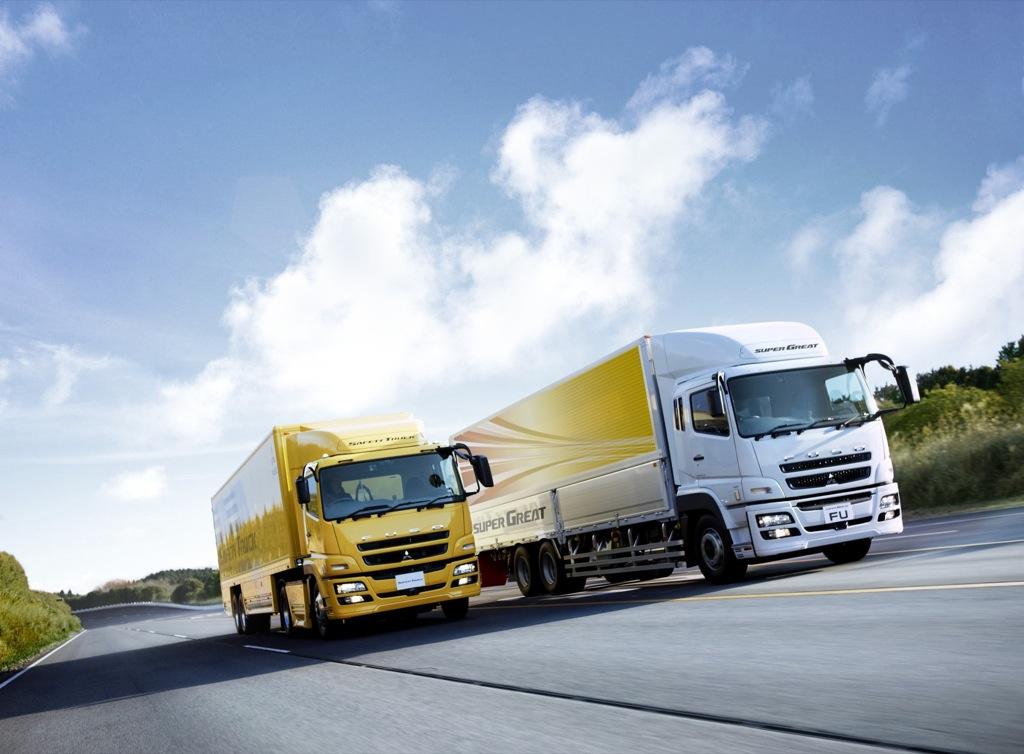 Most Fuel Efficient Truck >> Fuso Super Great Truck Unveiled - autoevolution