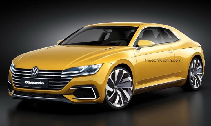 Futuristic Volkswagen Corrado Has Gte Concept Styling Cues