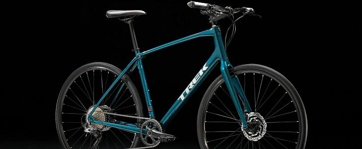 FX Sport 4 Is Trek's Carbon Fiber Fitness Bike. Full of Goodies and Under K