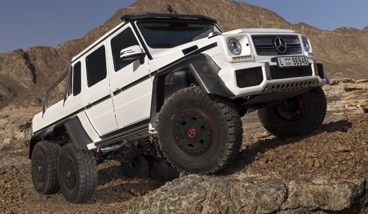 G 63 AMG 6x6 to be Left-Hand Drive Only [Video][Photo Gallery]