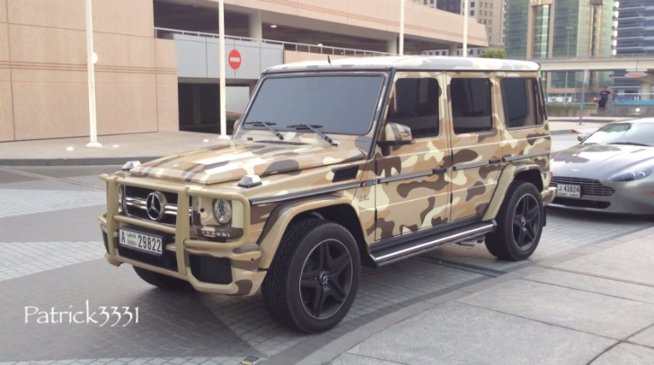 G 63 Amg In Desert Army Camouflage Is Infantry Ready