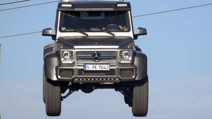 G 63 AMG vs G 63 AMG 6x6 by MotorTrend [Video]