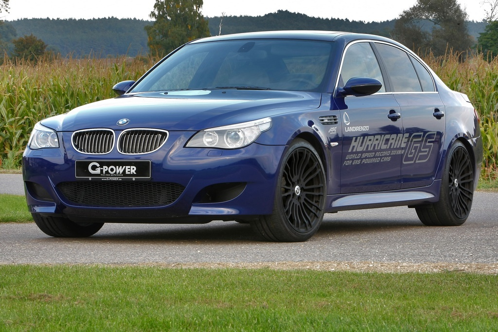 G Power Lpg Powered M5 Hurricane Gs Hits 333 Kmh Autoevolution