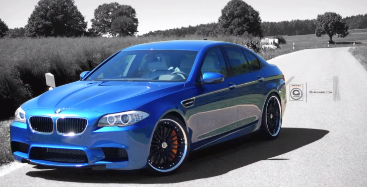 G-Power Presents: Titanium Exhaust for F10 BMW M5 [Video]