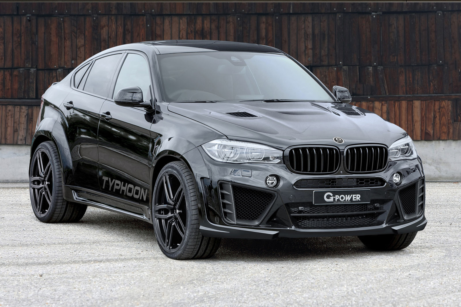 g power unveils typhoon tuning kit for bmw x6m it has 750 hp and looks the part autoevolution. Black Bedroom Furniture Sets. Home Design Ideas