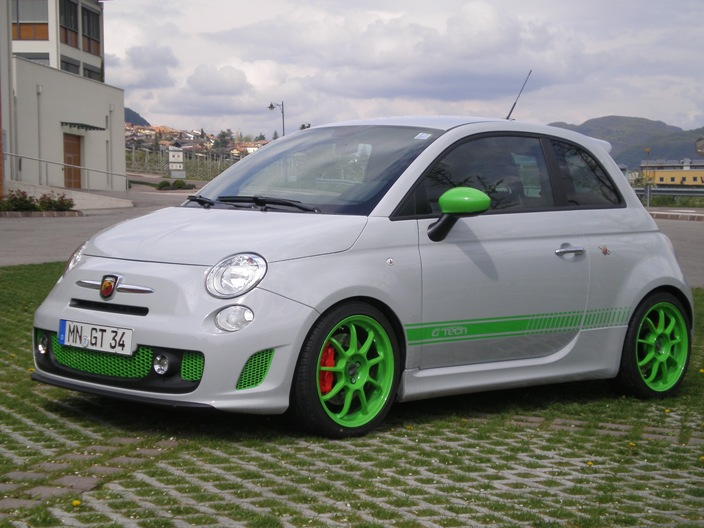 G-Tech Abarth 500 Unleashed - autoevolution