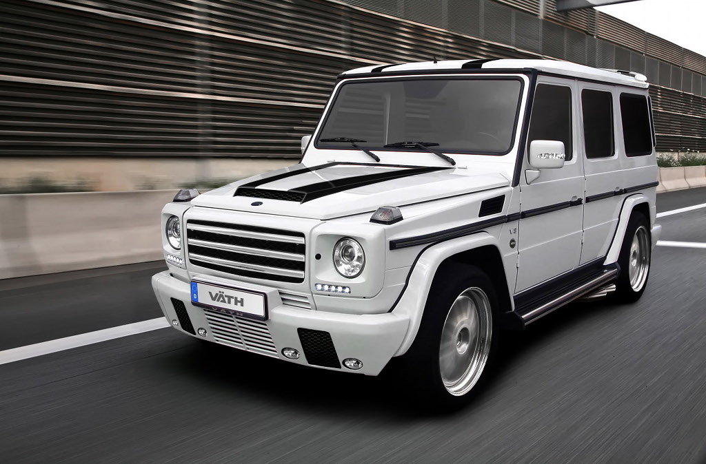 Mercedes Benz G55 Amg Pimped Out By Vath Autoevolution