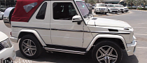 G63 AMG 2-Door Convertible Spotted in Dubai [Video]