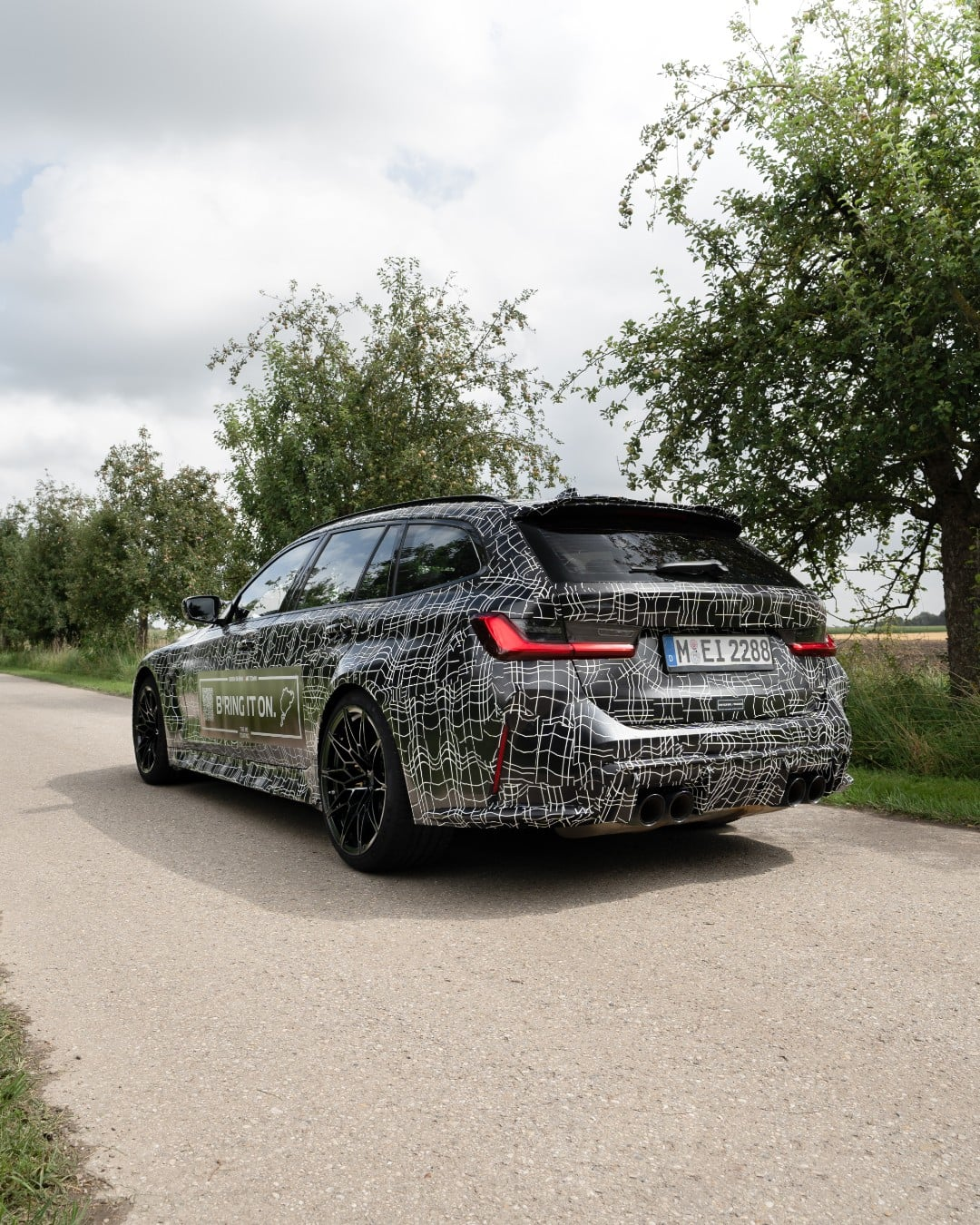 G81 BMW M3 Touring Previewed With Nurburgring Decals - autoevolution