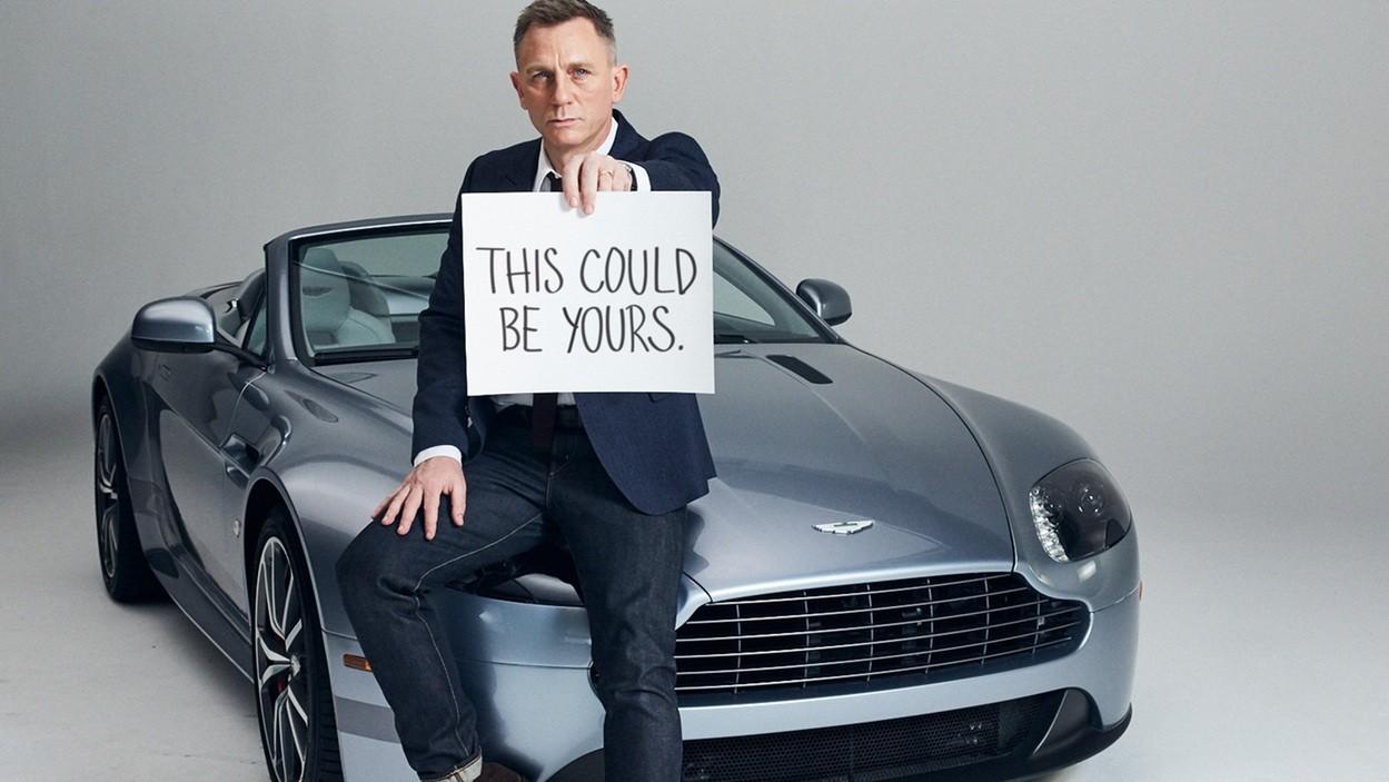 Daniel Craig Gets Aston Martins For Life Autoevolution