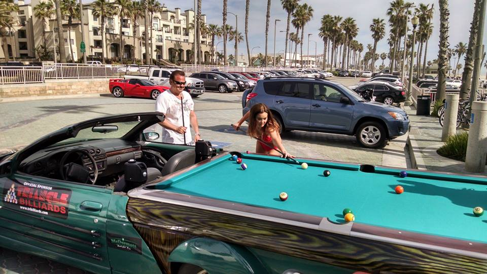 100 Mph Chevrolet Pool Table Car Is The Ultimate Gentleman