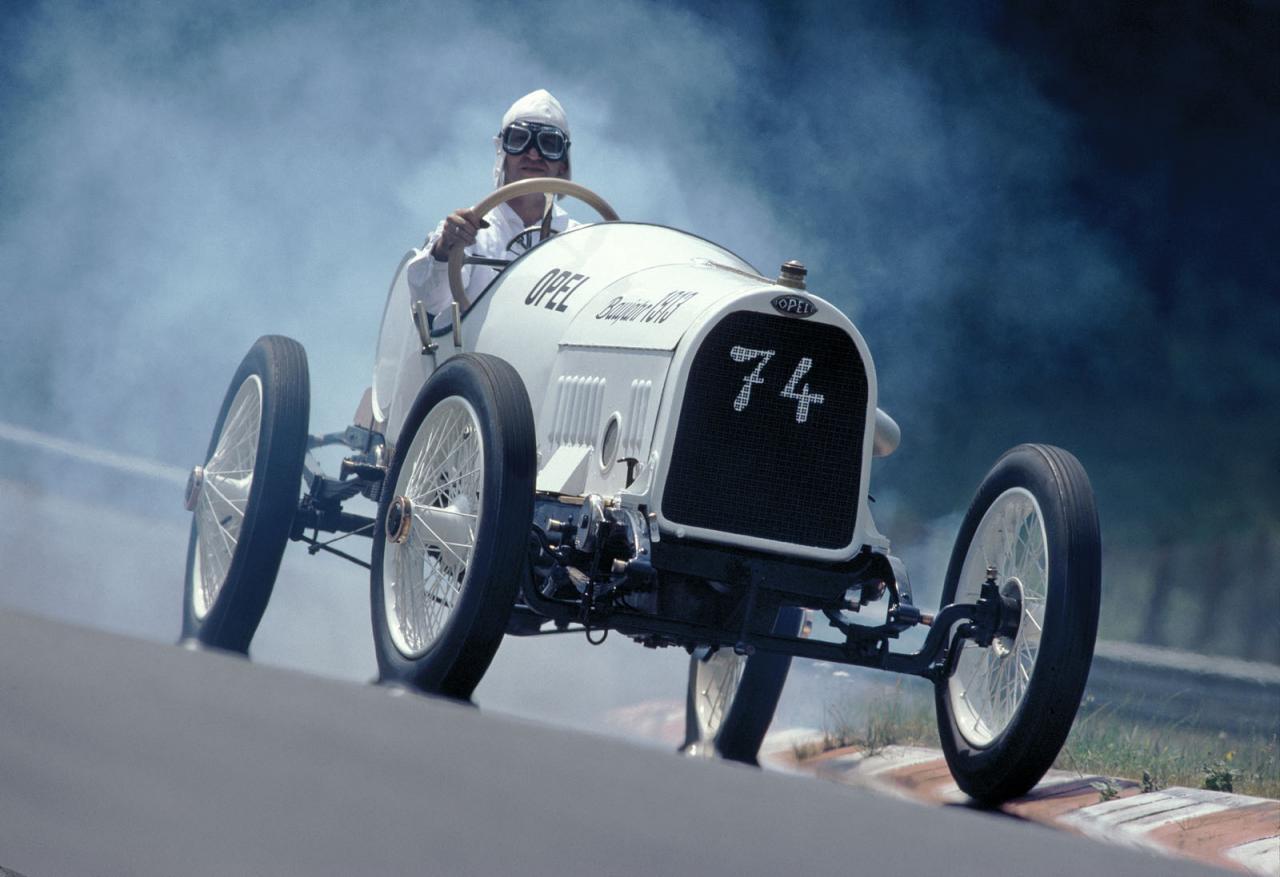 100 Year Old Opel Race Cars Return To Grand Prix De Lyon