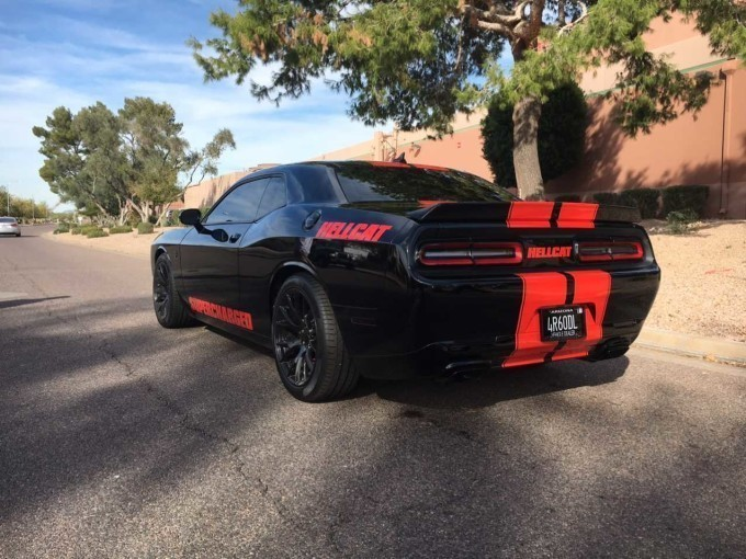 1 000 hp 2016 dodge challenger hellcat for sale at a whopping 155 000 autoevolution. Black Bedroom Furniture Sets. Home Design Ideas