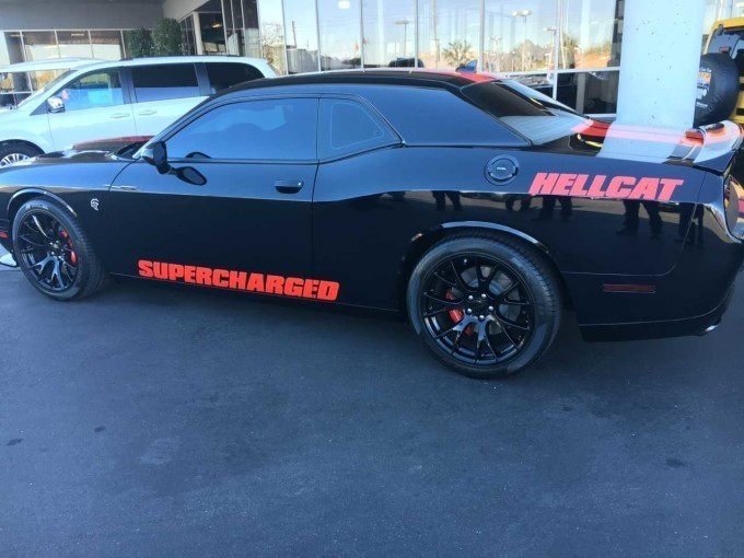 1 000 Hp 2016 Dodge Challenger Hellcat For Sale At A