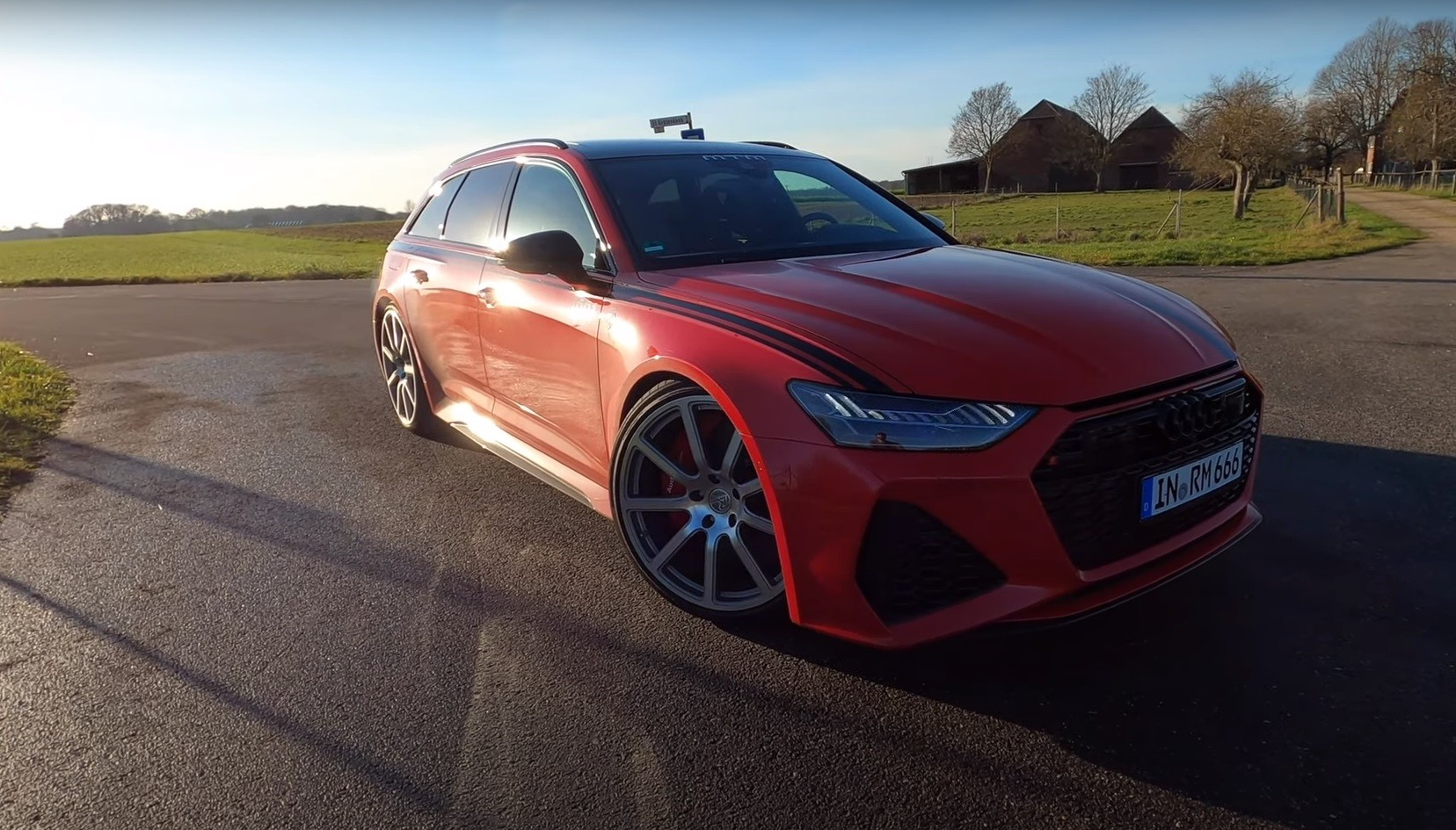 1,000 HP Audi RS6 Hits 220 MPH on the Autobahn, Top Speed ...