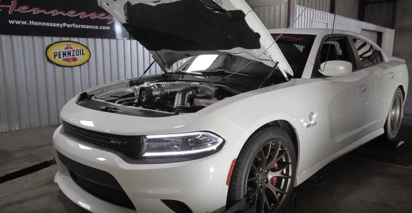 1 000 Hp Dodge Charger Hellcat By Hennessey Terrorizes