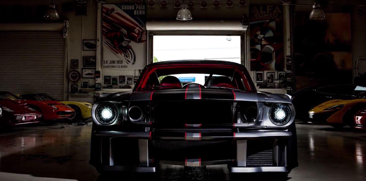 1000 hp vicious 1965 ford mustang gets jay leno love