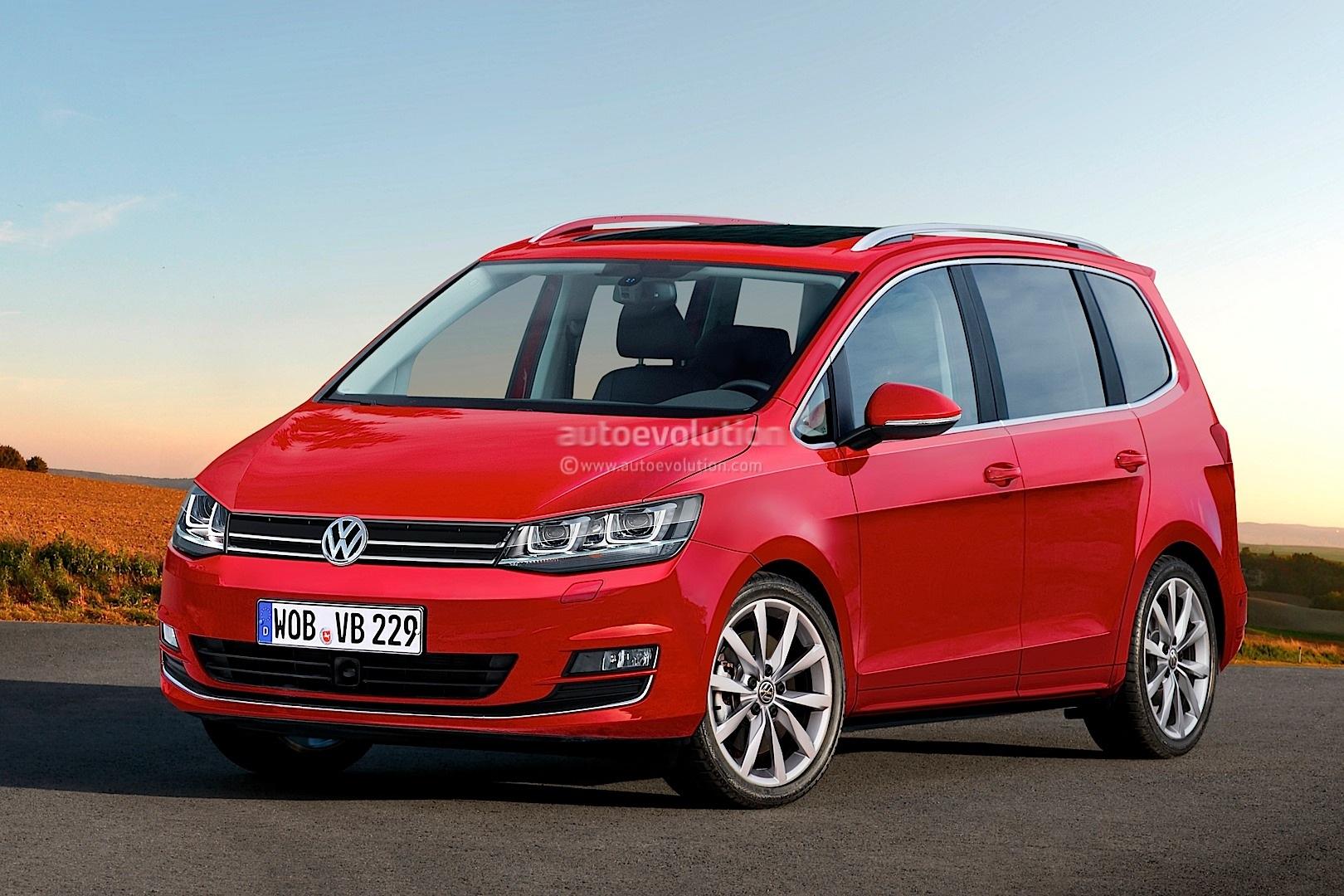2015 - [Volkswagen] Touran 2014-volkswagen-touran-rendering-1080p-1