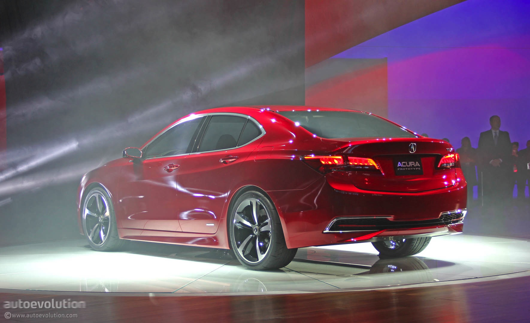 2015 Acura TLX Prototype at 2014 Detroit Auto Show