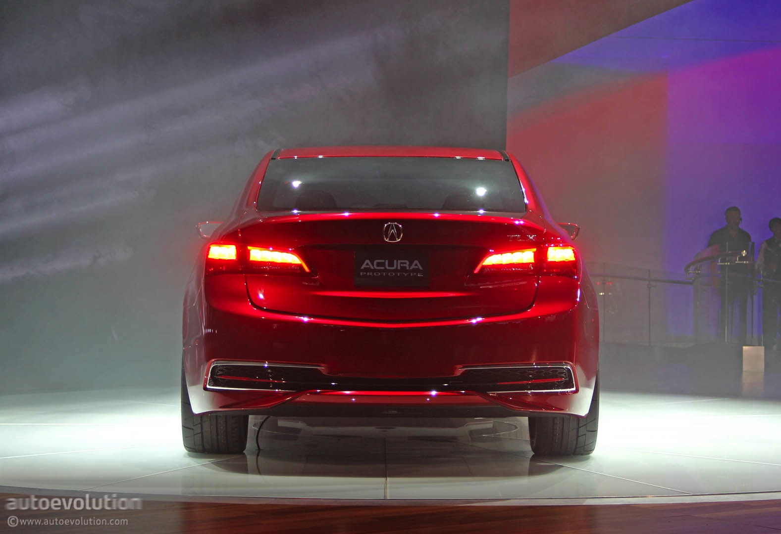 2015 Acura TLX Prototype at 2014 Detroit Auto Show