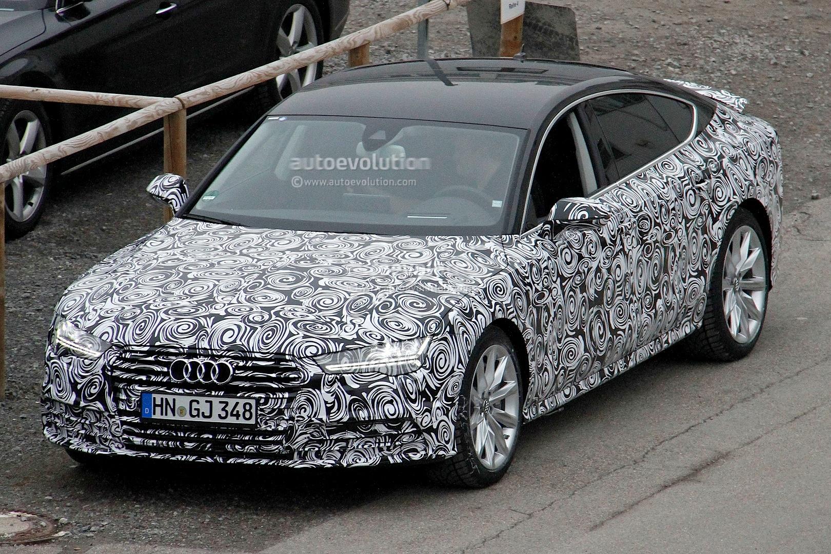 2014 - [Audi] A7 & S7 Sportback Restylée Spyshots-audi-a7-facelift-gets-new-headlight-design-1080p-1