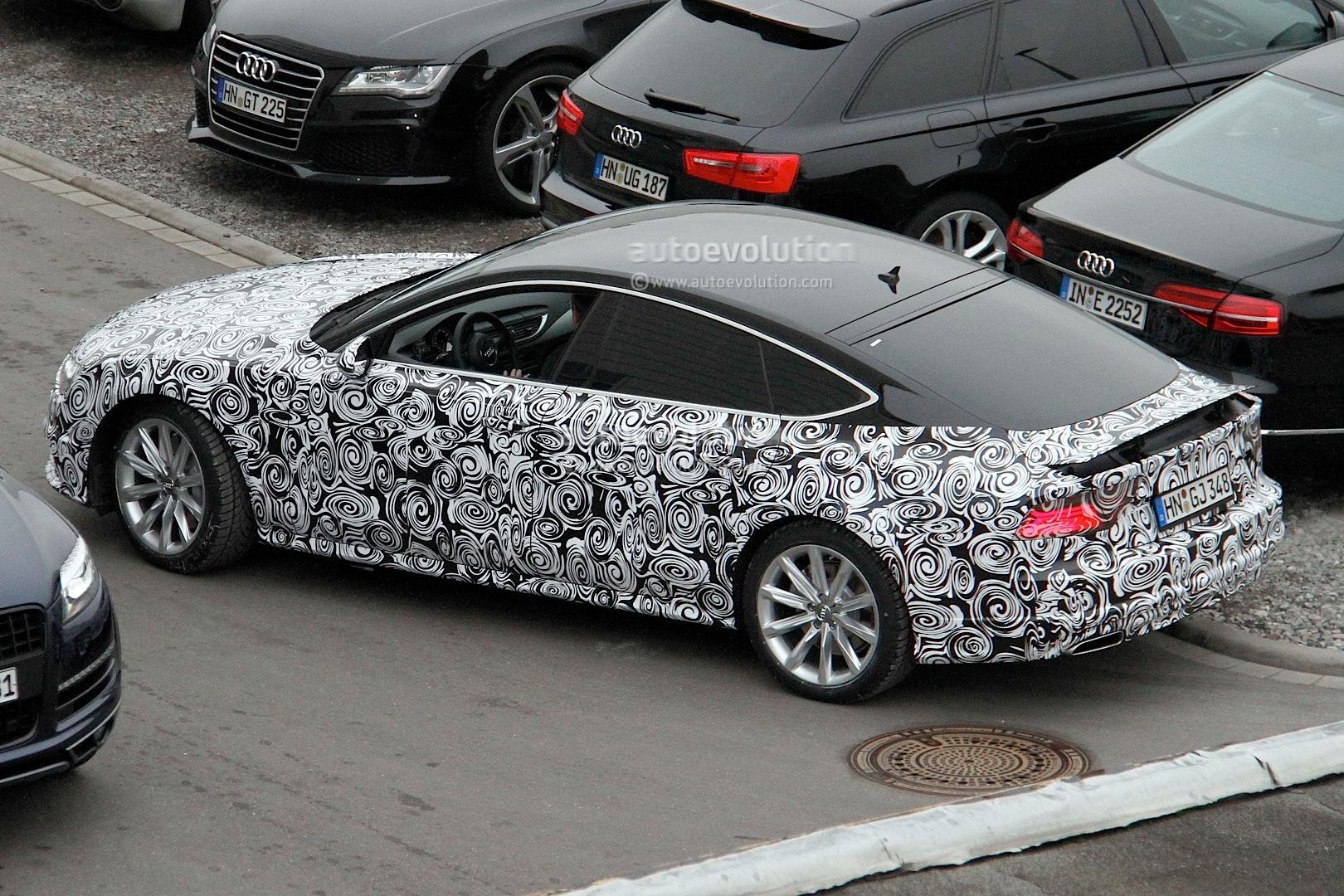 2014 - [Audi] A7 & S7 Sportback Restylée Spyshots-audi-a7-facelift-gets-new-headlight-design-1080p-4