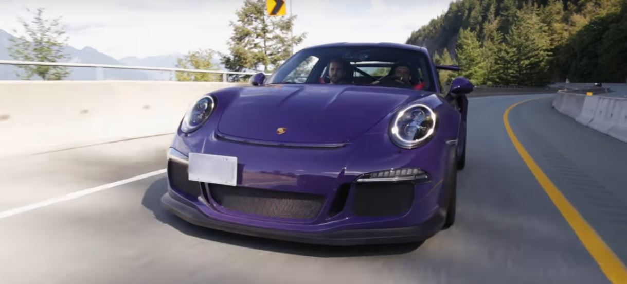11 Minutes Of Ultraviolet Blue Porsche 911 Gt3 Rs Pdk Hooning In Mexico Autoevolution