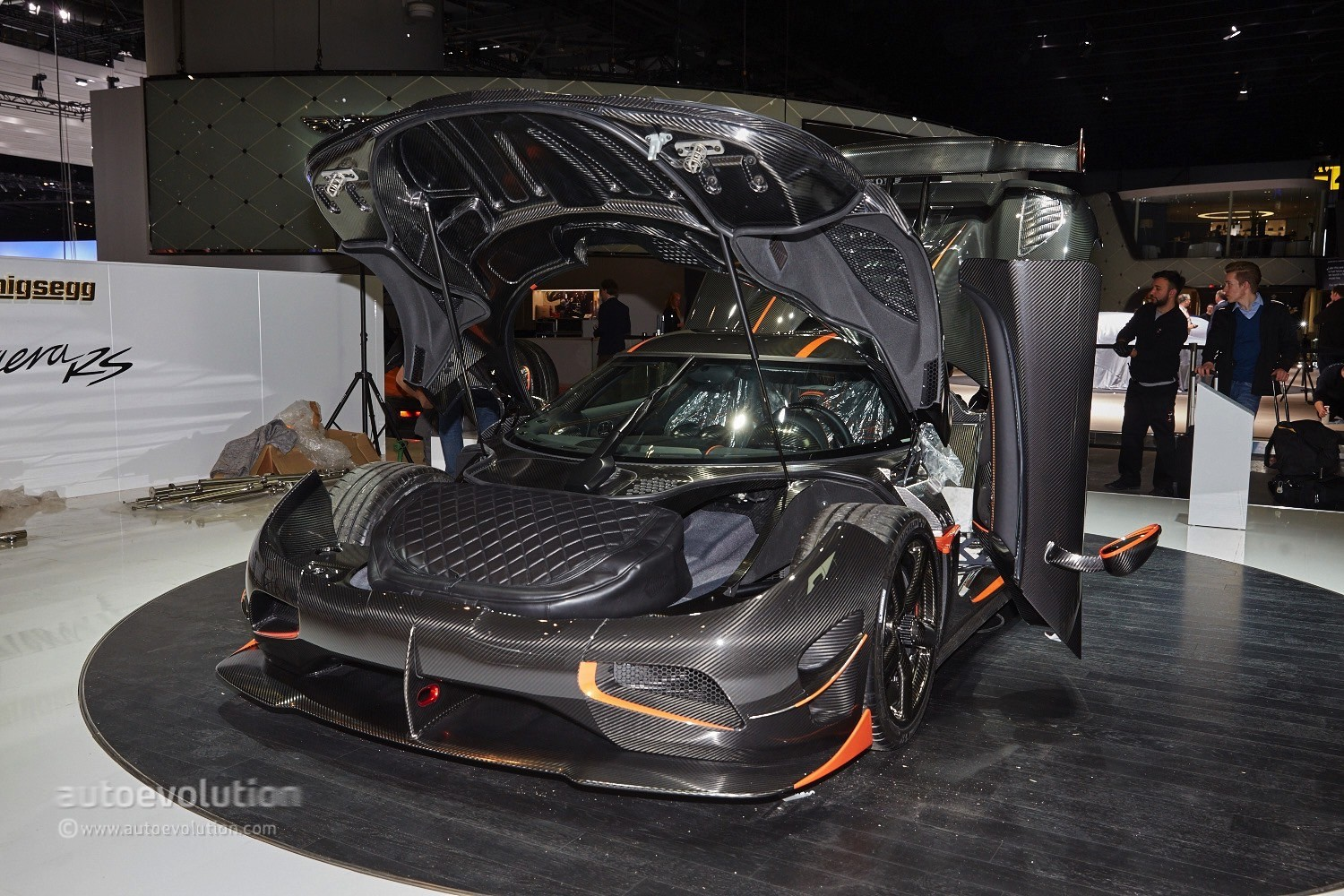 1 160 Hp For The Koenigsegg Agera Rs At Geneva Video