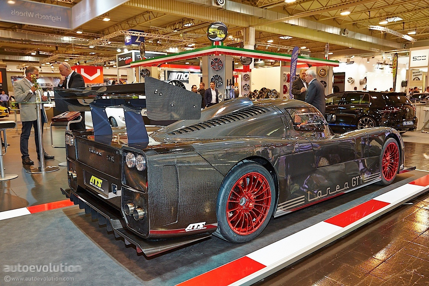 1 260 Hp Larea Gt1 S12 Is Barely Street Legal At Essen